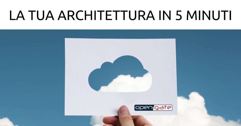 La tua architettura in 5 minuti